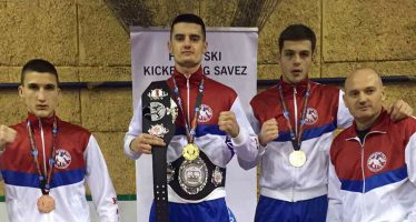Novaku Raduloviću profesionalni pojas i zlato na Evropskom kupu