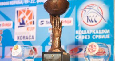 Poznati parovi četvrtfinala Kupa Koraća