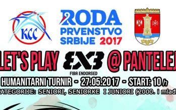 Humanitarni 3X3 basket turnir ponovo u Panteleju