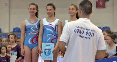 Sjajan vikend za gimnastičare kluba Soko 2011 iz Pirota (VIDEO)