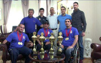 Pehari i medalje za niške stonotenisere sa invaliditetom (VIDEO)