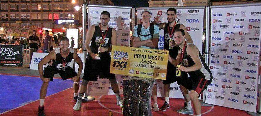 3×3 basket u centru Niša – trofej domaćoj ekipi (VIDEO)