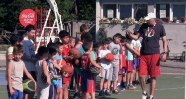 Besplatna letnja škola košarke za dečicu u Pirotu (VIDEO)