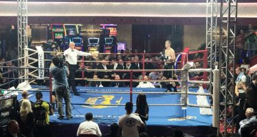 Sjajan internacionalni debi Filipa Stankovića na boks spektaklu u Đevđeliji
