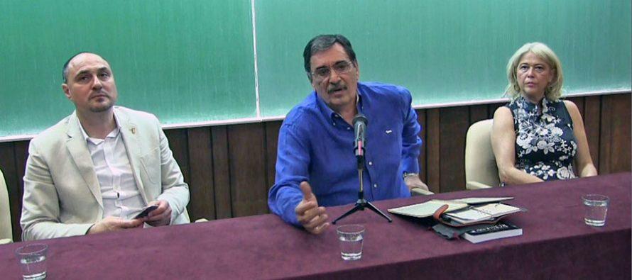 Vlade Đurović održao zanimljivo predavanje na Fakultetu sporta (VIDEO)