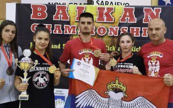 Srpski kik-bokseri šampioni Balkana (VIDEO)