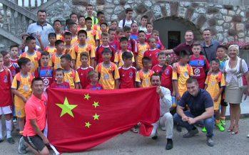 Nastavljena saradnja FK Niška Banja sa kineskim Šenženom (VIDEO)