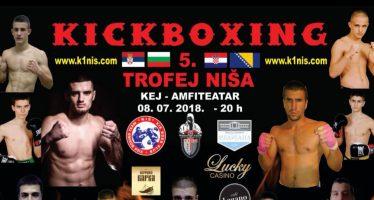 Borilački spektakl – 5. Kik-boks trofej Niša