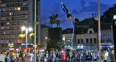 Atletski spektakl u centru Niša (VIDEO)