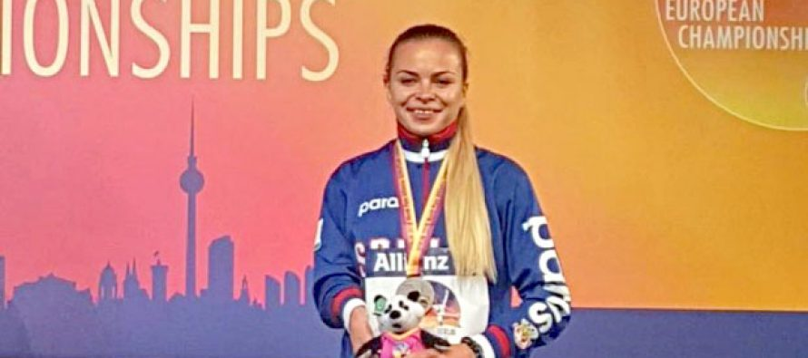 Saška Sokolov stigla do bronze na Evropskom prvenstvu