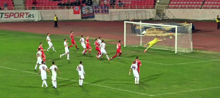 Radnički se posle pobede nad Mačvom učvrstio na drugom mestu (VIDEO)