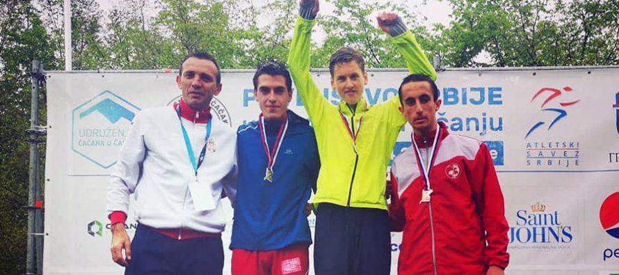Stamenković treći na Prvenstvu Srbije u planinskom trčanju