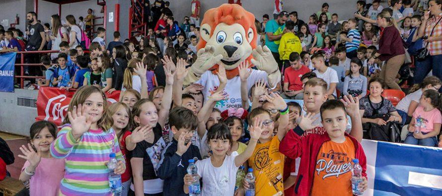 Sportske igre mladih u Nišu okupile veliki broj mališana (VIDEO)