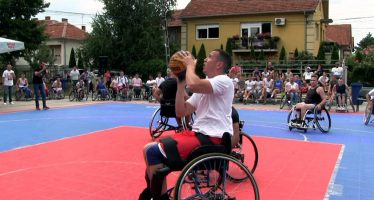 "3×3 Pantelej 2019 obeležili ""Tropa de Elite"" i košarkaši u kolicima (VIDEO)"