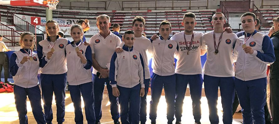 Karatisti Elida dominantni na prvenstvu u Čačku