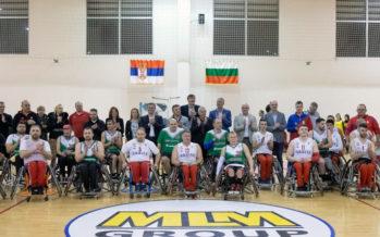 Spektakl košarke u kolicima u Beloj Palanci (VIDEO)