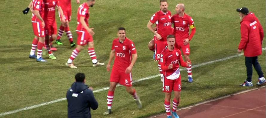 Radnički slavio protiv Čukaričkog, ali se i oprostio od Kosanovića (VIDEO)