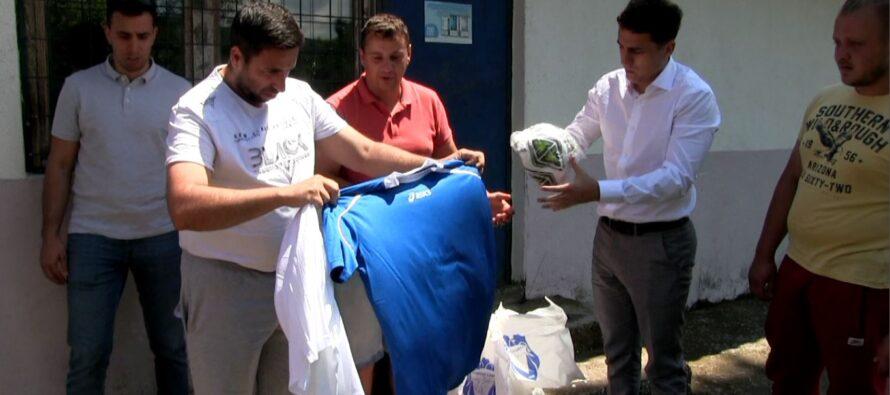 Grad pomogao sportskim klubovima sa seoskog područja GO Crveni Krst (VIDEO)