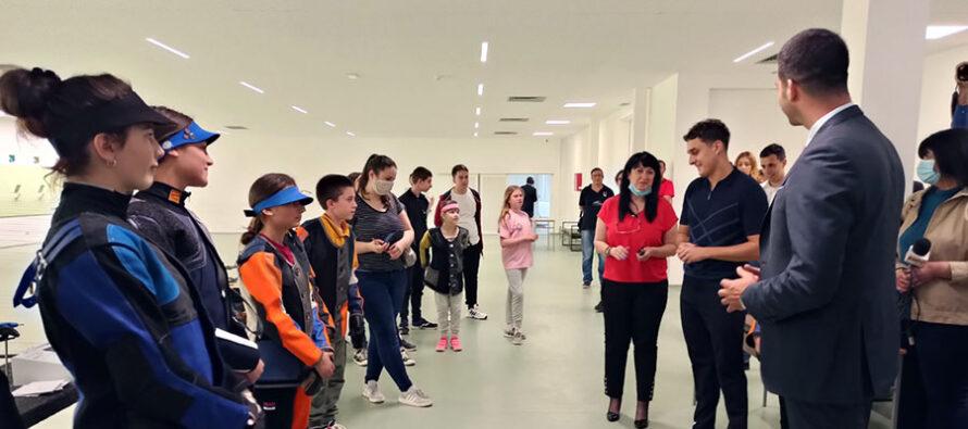 Ministar posetio novu streljanu u Nišu (VIDEO)