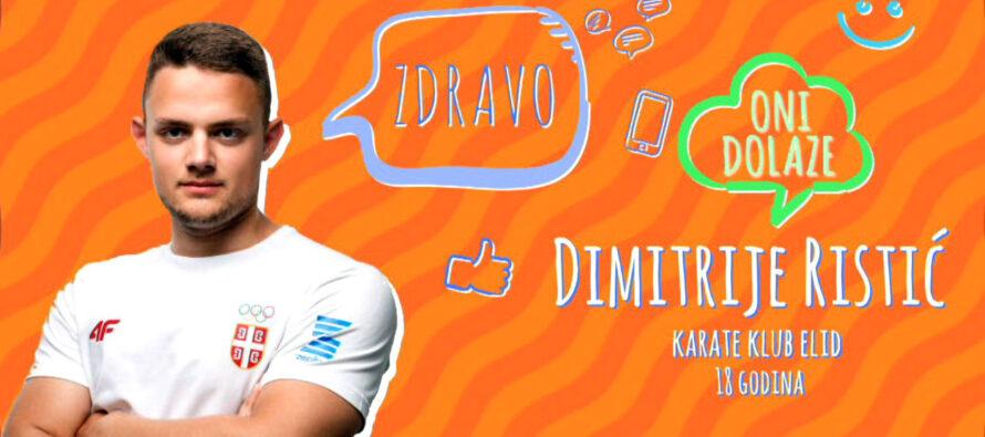 ONI DOLAZE: Dimitrije Ristić (VIDEO)