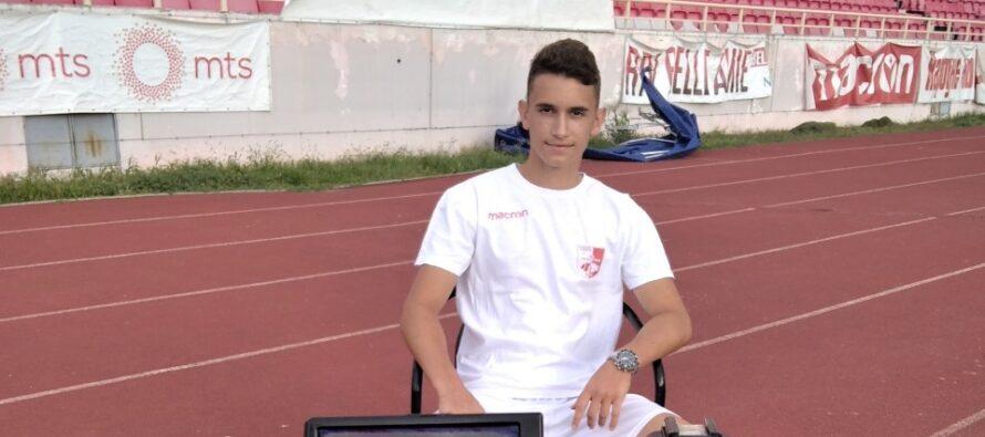Stefan Mitrović: Na meni je da iskoristim ukazanu priliku
