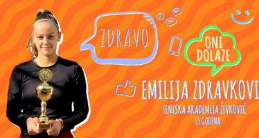 ONI DOLAZE: Emilija Zdravković (VIDEO)