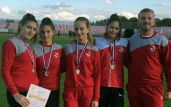 Mlade atletičarke Radničkog donele medalje sa Prvenstva centralne Srbije