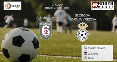 Derbi Prve Niške lige uživo na Sportu juga (VIDEO)