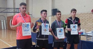 Nišlija drugi junior Srbije u stonom tenisu