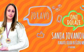 ONI DOLAZE: Sanja Jovanović (VIDEO)