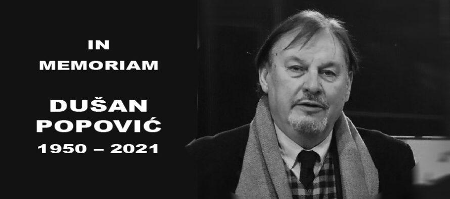 IN MEMORIAM: Dušan Duki Popović (1950-2021)