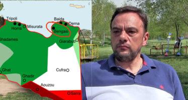 Milan Josić u Libiji