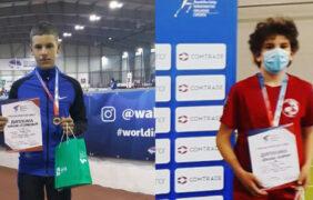 Nikola i Filip doneli medalje sa državnog prvenstva u atletici