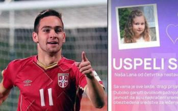 Ponovo human: Andrija Živković platio celokupno lečenje male Lane