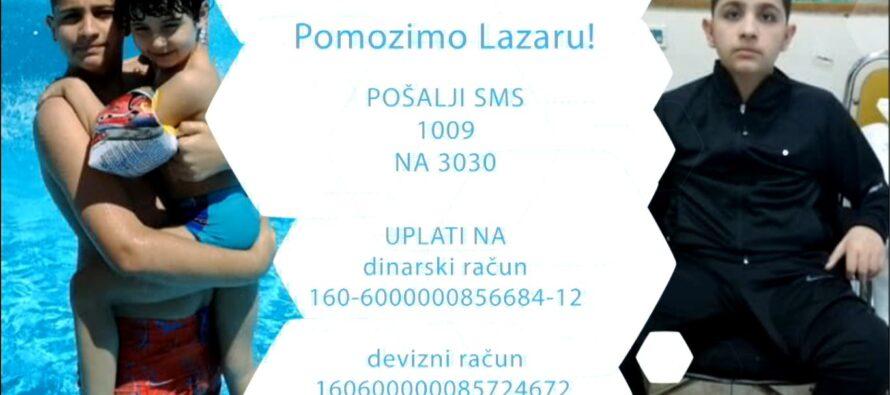 Fudbaleri Radničkog pozivaju za pomoć Lazaru Ristiću (VIDEO)
