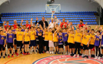 Marinos realizovao još jednu akciju za najmlađe košarkaše (VIDEO)