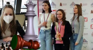 Anđela Dimitrijević šampion Srbije u ubrzanom šahu