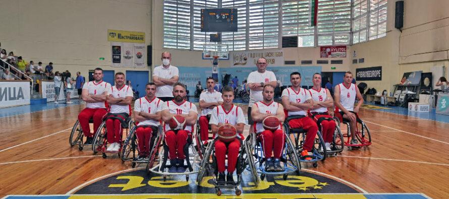 Niški košarkaši u kolicima treći na turniru u Sofiji