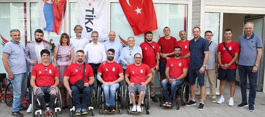 Turci pomogli srpsku košarku u kolicima
