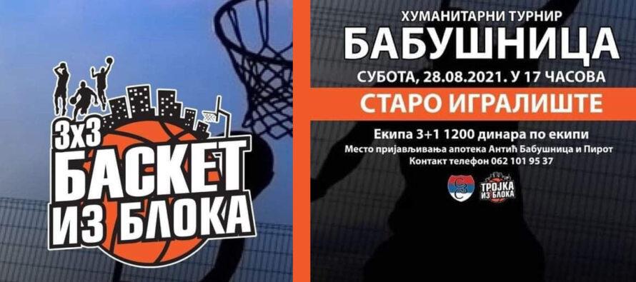 """""""Basket iz bloka"""" u Babušnici"""