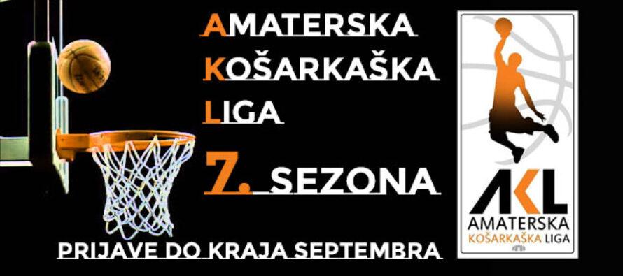 Prijave za sedmu sezonu Amaterske košarkaške lige su u toku