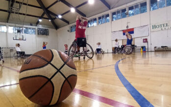 Niški košarkaši u kolicima se ozbiljno pripremaju za nastupajuću sezonu (VIDEO)