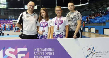 Tri bronze Srbiji na Svetskom školskom prvenstvu donele takmičarke Naisusa