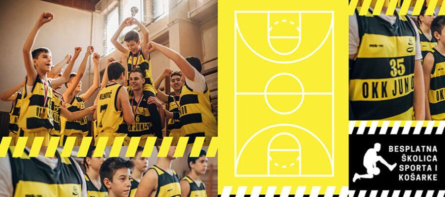 """Još jedna besplatna škola košarke za najmlađe u organizaciji OKK """"Juniora"""""""